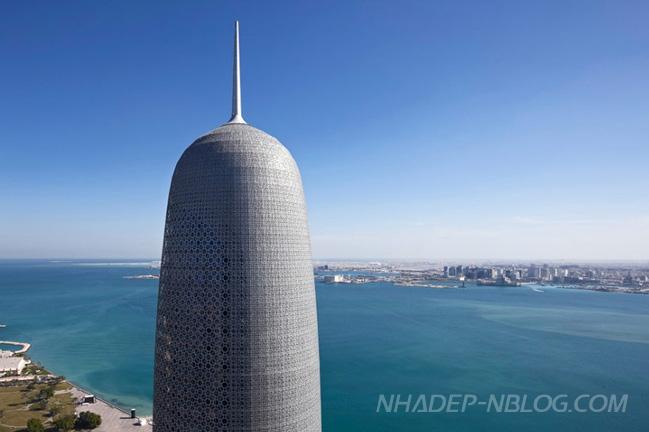 Ngắm nhìn tòa tháp Burji Doha