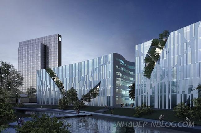 Thiết kế ấn tượng của trung tâm Ko-Bogen