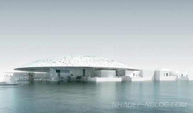 Kiến trúc độc đáo của Bảo tàng Louvre Abu Dhabi