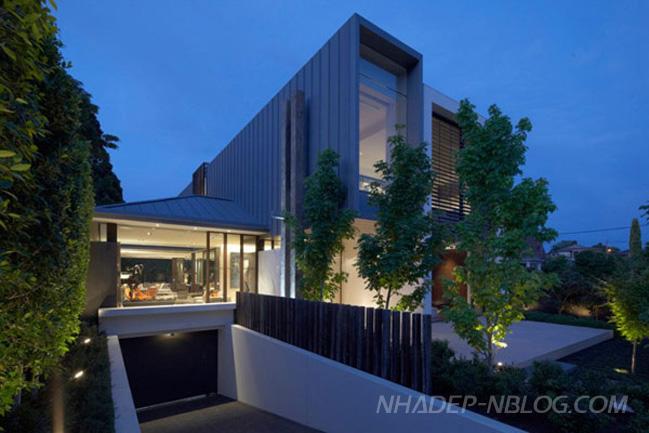 Mẫu nhà đẹp mang phong cách thiết kế hiện đại ở Australia