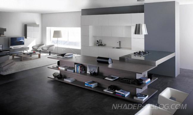 Thiết kế nhà bếp đẹp phần 01