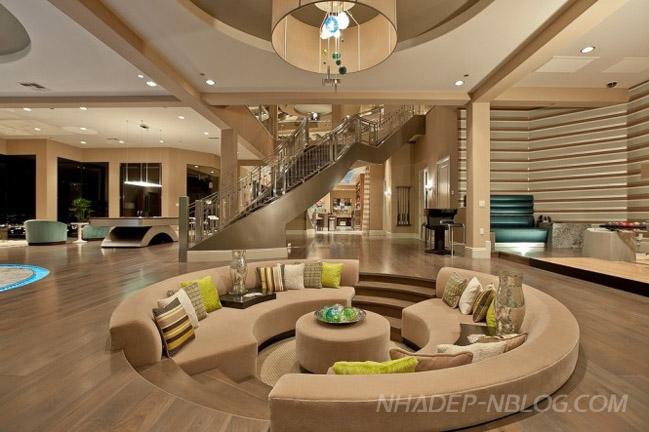 Phòng khách đẹp với khu vực