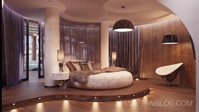 Thiết kế phòng ngủ đẹp theo cách hiện đại