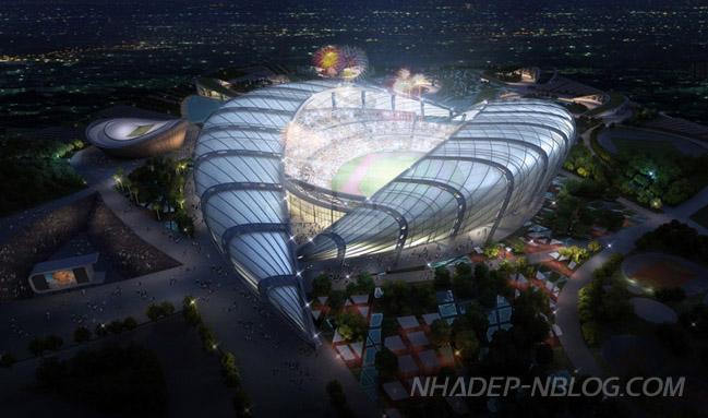 Kiến trúc sân vận động cho Pan African Games 2015