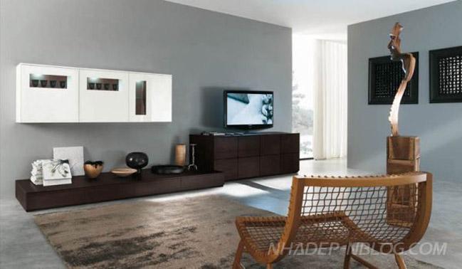 10 mẫu thiết kế nội thất phong khách hiện đại