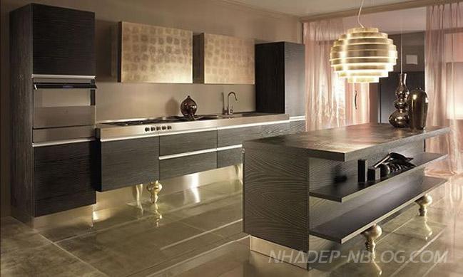 Ngắm thiết kế nội thất nhà bếp sang trọng