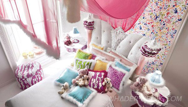 Thiết kế phòng ngủ xinh xắn và ấn tượng