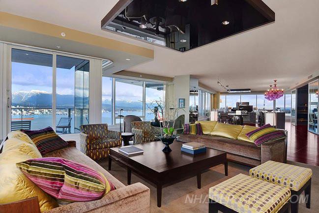 Ngắm Penthouse triệu đô tại Vancouver