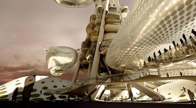 Ngắm siêu kiến trúc của đài quan sát ở Đài Loan