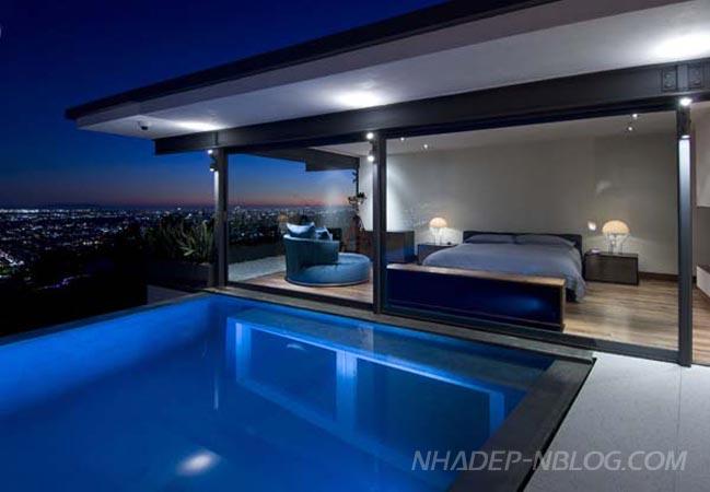 Ngắm biệt thự sang trọng tại Hollywood Hills