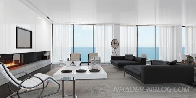 Ngắm penthouse hiện đại nhìn ra biển tuyệt đẹp