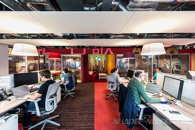 Văn phòng đầy màu sắc của Google tại Dublin