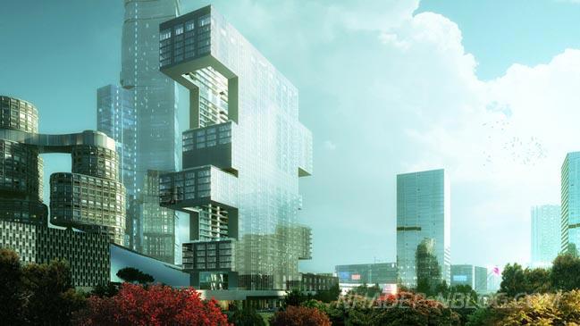 Ngắm kiến trúc dự án R6 tại trung tâm thương mại quốc tế Yongsan