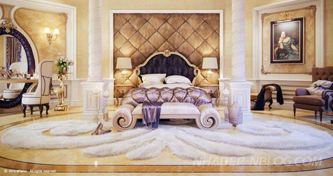 Nội thất phòng ngủ đẹp phong cách cổ điển