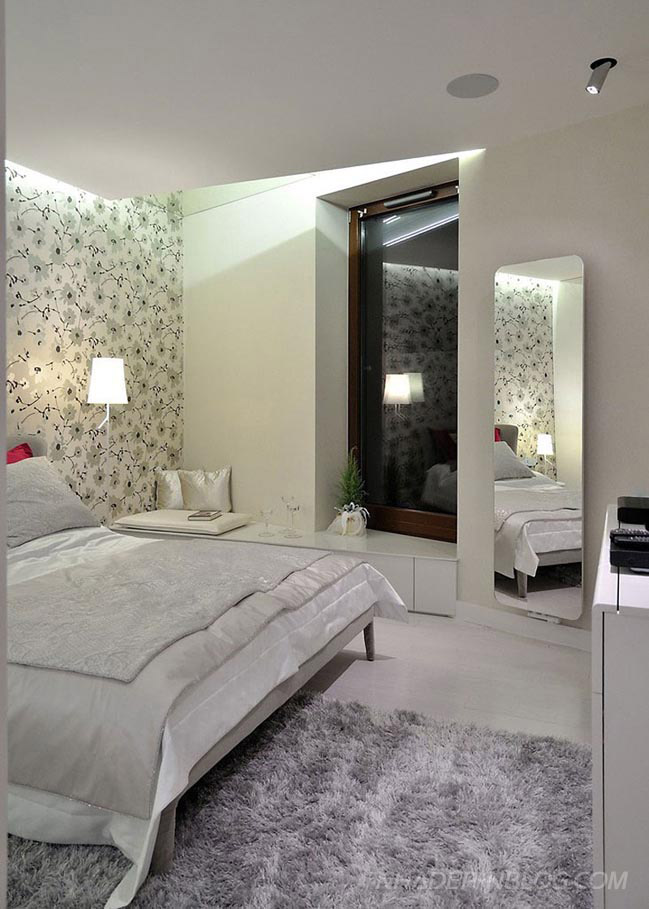 Nhà đẹp phong cách hiện đại với đèn LED ấn tượng