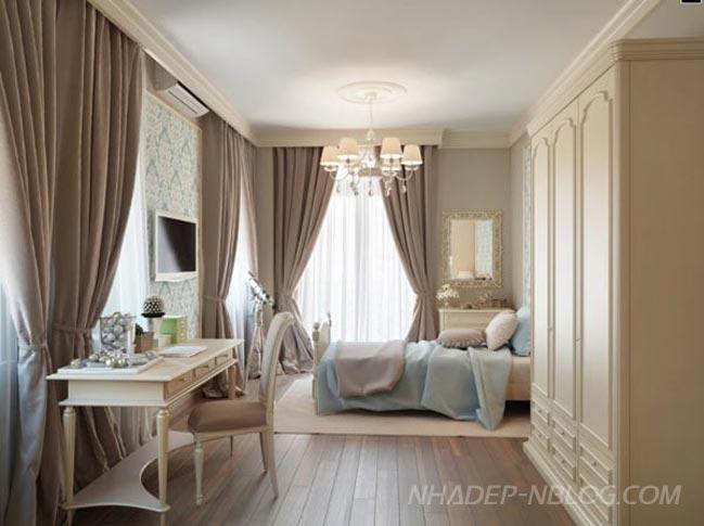 Mẫu nhà đẹp với thiết kế mang phong cách cổ điển