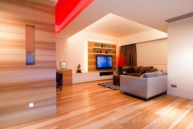 Nhà đẹp bằng gỗ ấm cúng tại Hong Kong