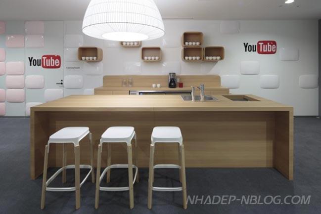 Kiến trúc văn phòng Goole và Youtube mang đậm văn hóa Nhật Bản
