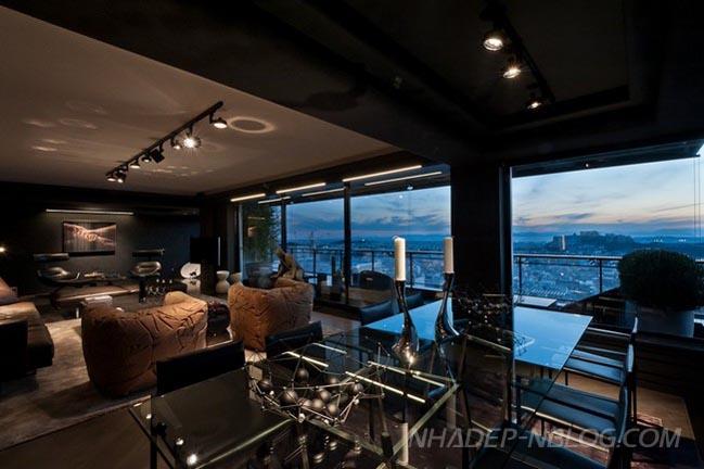 Ngắm căn hộ chung cư hiện đại tại Hy Lạp