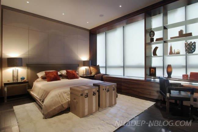 Thiết kế chung cư đẹp cao cấp với garage trong nhà