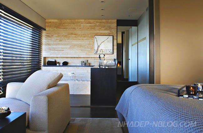 Ngắm mẫu nhà penthouse 2 tầng sang trọng
