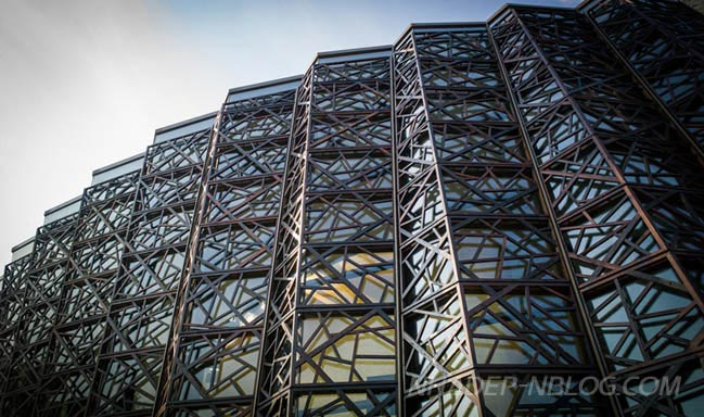 Thiết kế kiến trúc nhà hát độc đáo tại Trung Quốc