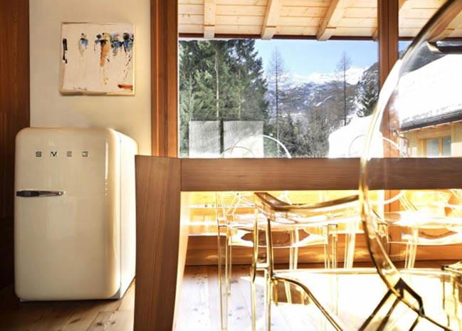 Thiết kế nhà đẹp với nội thất gỗ thiết kế ấn tượng