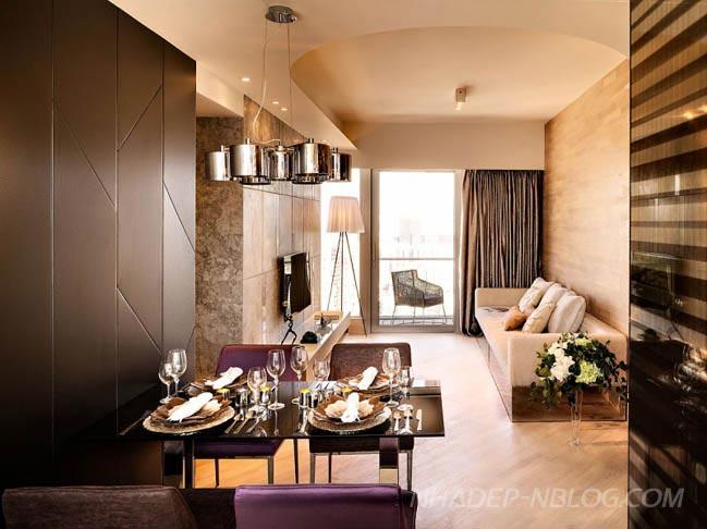 Thiết kế căn hộ cao cấp sang trọng tại Hong Kong