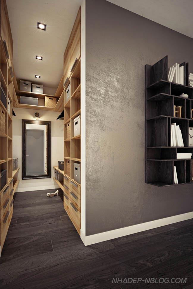 Mẫu nhà nhỏ đẹp với nội thất không gian mở thông minh