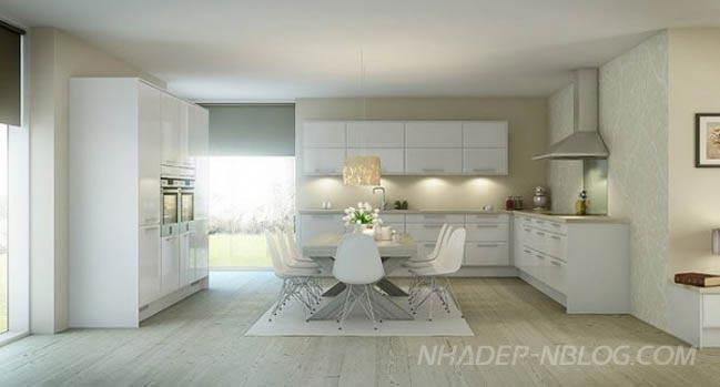 10 mẫu nội thất nhà bếp đẹp hiện đại 2013