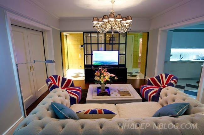 Mẫu nhà đẹp với phong cách Hoàng gia Anh sang trọng