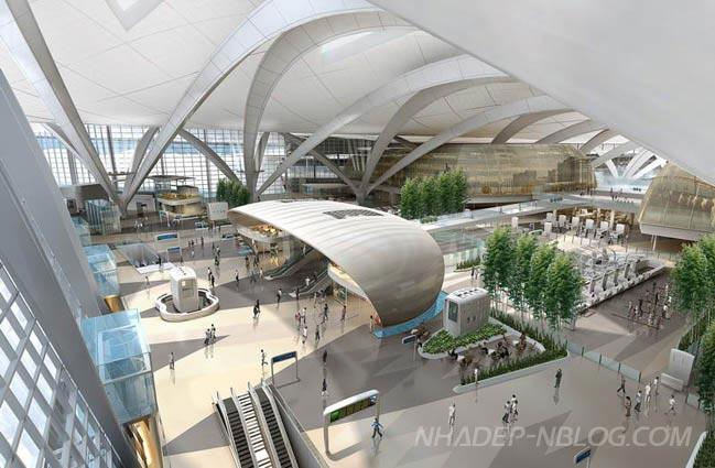 Ngắm kiến trúc quy hoạch tổng thể sân bay Abu Dhabi