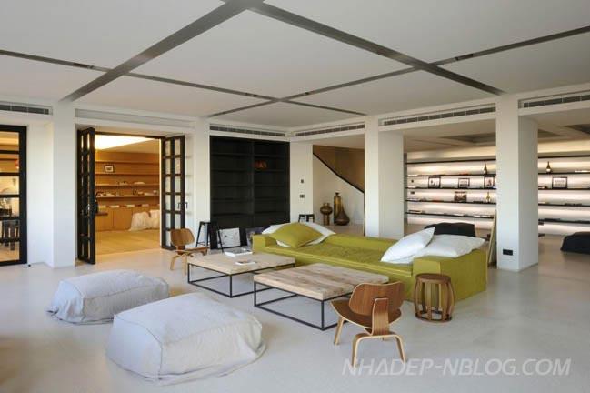 Biệt thự đẹp với nội thất trang nhã và tinh tế