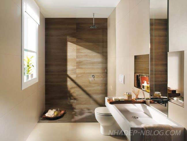 20 mẫu phòng tắm đẹp với nội thất hiện đại