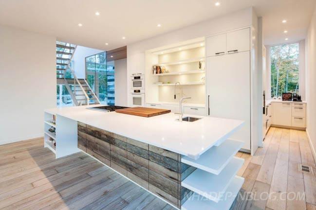 Ngắm mẫu nhà biệt thự đẹp 2 tầng tại Canada