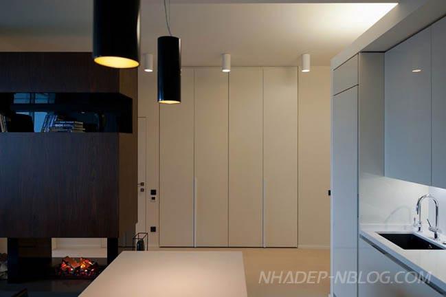 Thiết kế nội thất chung cư đẹp nhìn ra toàn cảnh thành phố