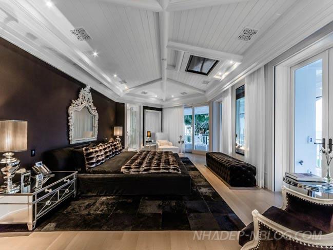 Tham quan biệt thự đẹp 72 triệu đô của ca sĩ Celine Dion