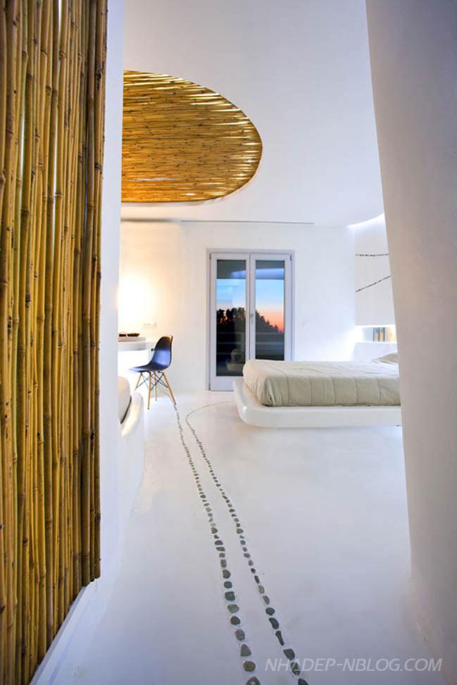 Mẫu phòng ngủ đẹp với cảnh quan thiên nhiên