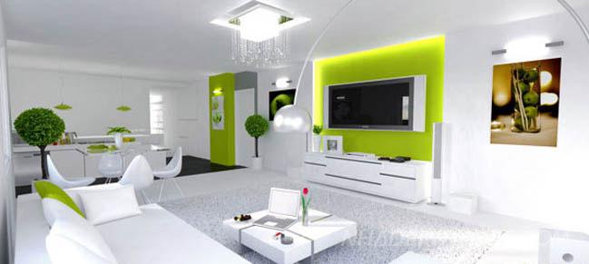 Những mẫu phòng khách đẹp hiện đại cá tính