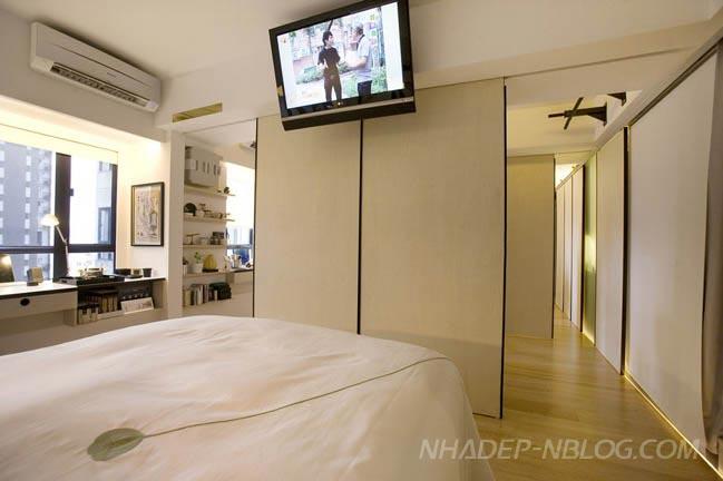 Căn hộ chung cư đẹp hiện đại tại Hong Kong