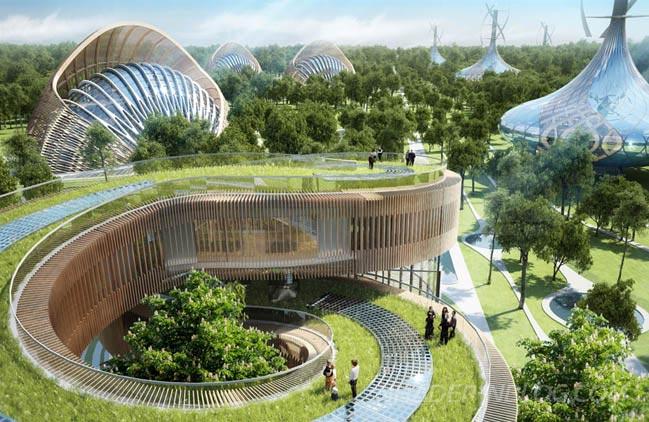 Kết quả hình ảnh cho kiến trúc sinh thái