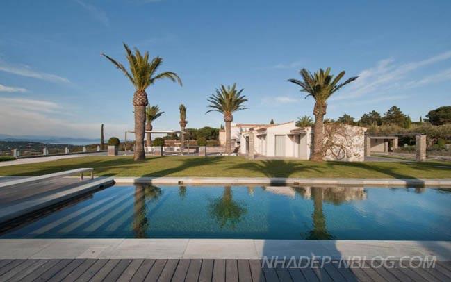 Ngôi biệt thự đẹp đương đại với phong cách Địa Trung Hải
