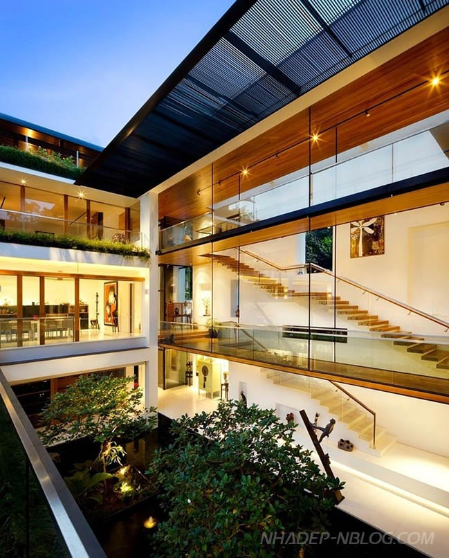 Biệt thự đẹp mơ ước tại Singapore