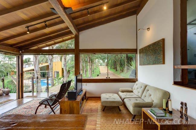 Ngôi biệt thự đẹp ngoại ô Brazil