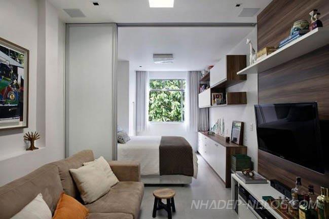 Thiết kế điển hình cho căn hộ chung cư mini giá rẻ