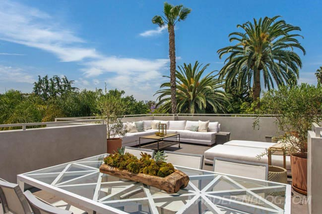 Biệt thự vườn sang trọng tại Los Angeles
