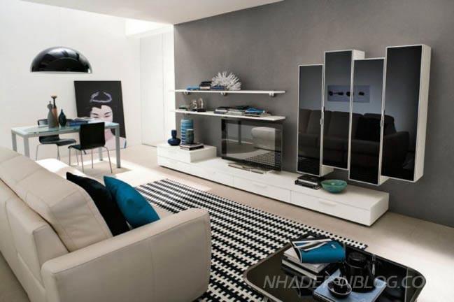 35 mẫu phòng khách đẹp hiện đại