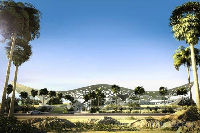 Cung điện thiên nhiên tráng lệ tại Quatar