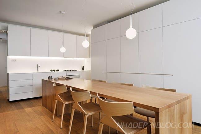 Thiết kế nội thất chung cư gỗ ấm áp