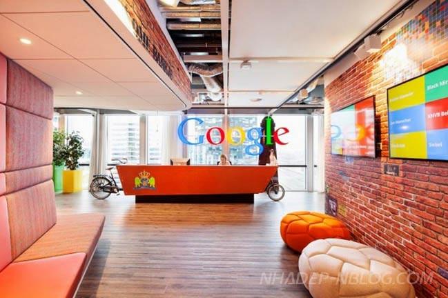 Tham quan văn phòng mới của Google tại Amsterdam